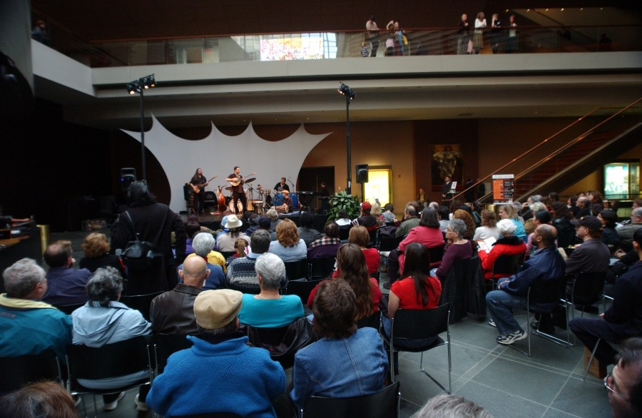 Kimmel Center, Philadelphia, Pennsylvania, USA. December 17, 2006.