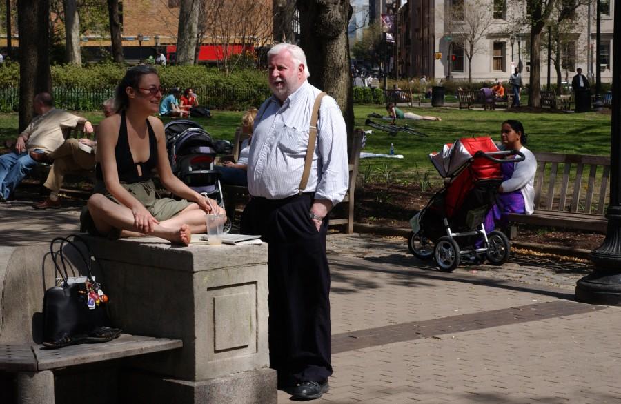 Rittenhouse Square, Philadelphia, Pennsylvania, USA.  April 2008.